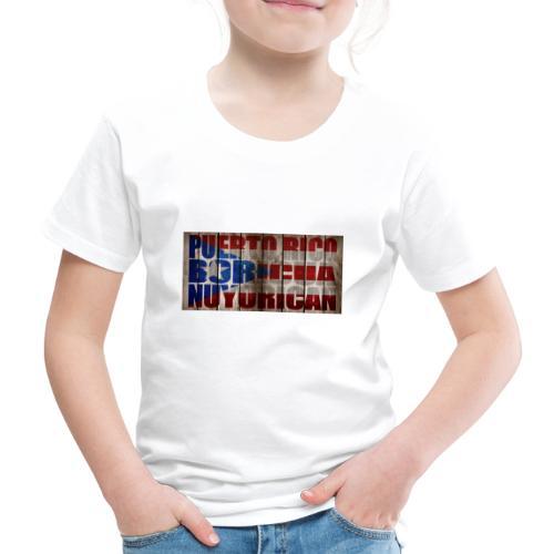 # Salsa Es La Cura Puerto Rico Boricua Nuyorican - T-shirt Premium Enfant