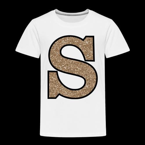 Girls S For Sonnit Golden Sparkle - Kids' Premium T-Shirt