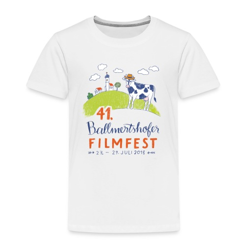 41. Filmfest hell - Kinder Premium T-Shirt