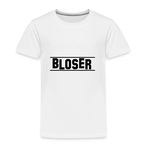 Bloser Design Black 2 - Kinder Premium T-Shirt