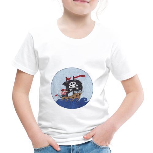 Piratenschiff - Kinder Premium T-Shirt