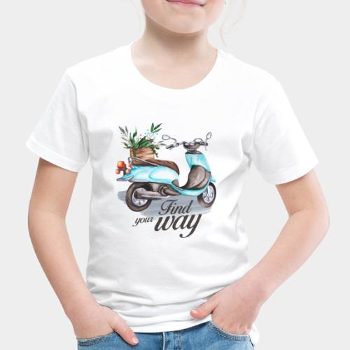 trouvez votre chemin dans la vie - T-shirt Premium Enfant