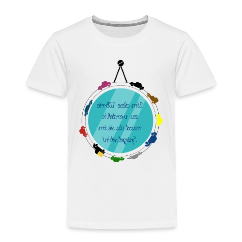 Spiegelschrift - Kinder Premium T-Shirt