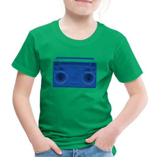 Bestes Stereo blau Design online - Kinder Premium T-Shirt
