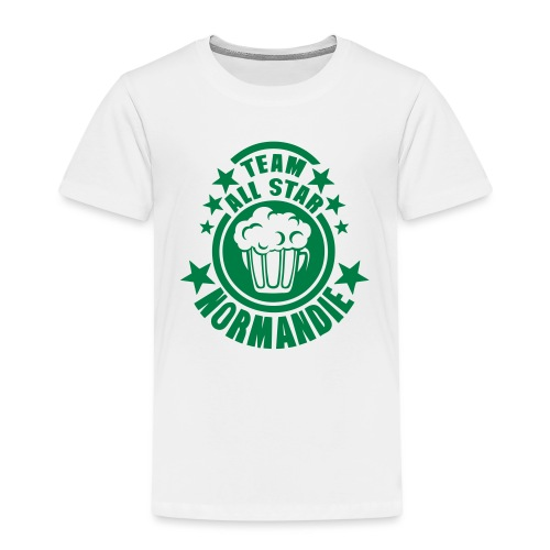normandie team all star biere alcool 15 - T-shirt Premium Enfant