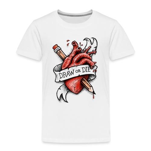 Draw or Die - Kids' Premium T-Shirt