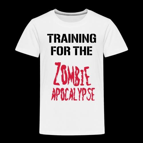 Zombie Apocalypse - Kinder Premium T-Shirt