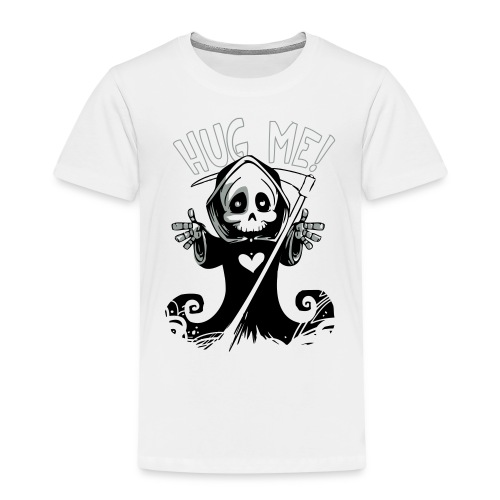 death-Hugh Me - Kinder Premium T-Shirt
