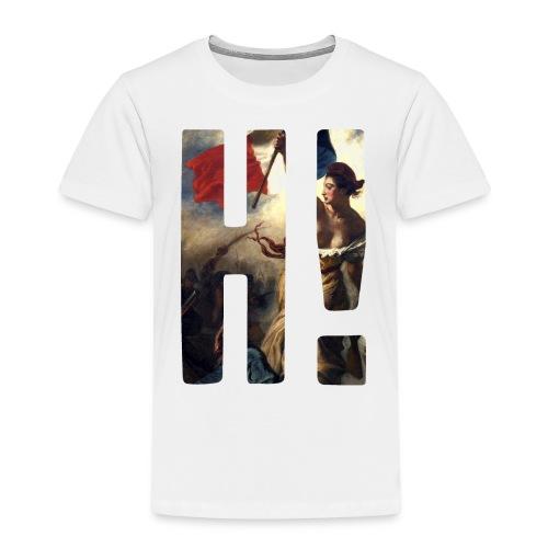 Apparel L'Histoire H! Logo Tee - Delacroix - Kids' Premium T-Shirt
