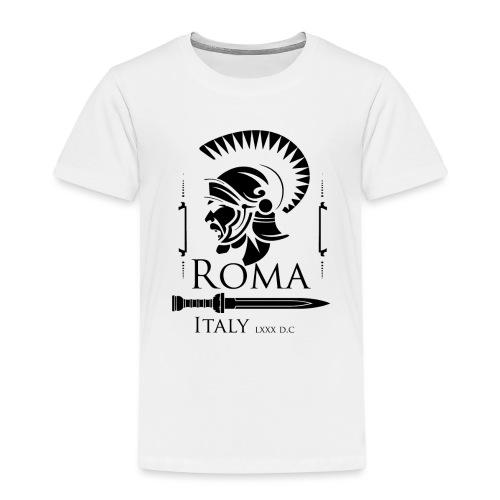 Legionario Romano con Elmetto - Maglietta Premium per bambini