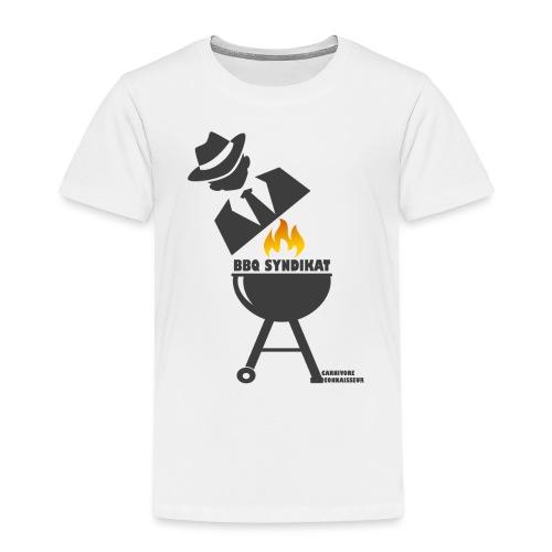 BBQ Syndikat - Mafia Grillshirt - Kinder Premium T-Shirt