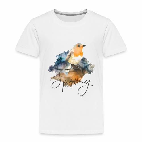 Robin Spring - Kinder Premium T-Shirt