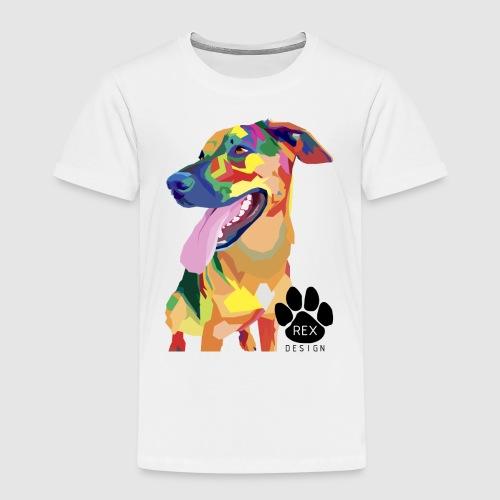 Big Tongue Dog - Kids' Premium T-Shirt