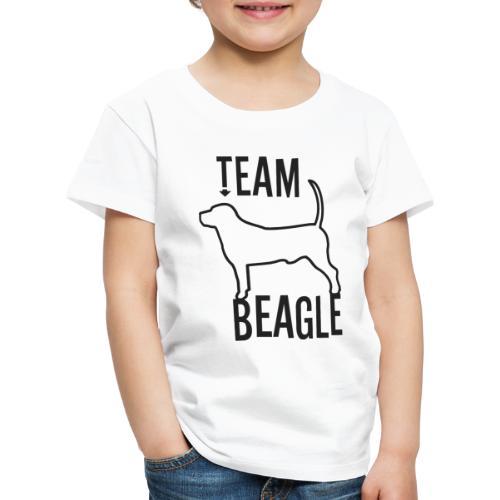 Team Beagle dog as a gift idea - Kids' Premium T-Shirt