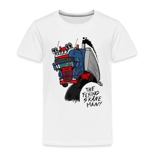 The flying skane man - Kinderen Premium T-shirt