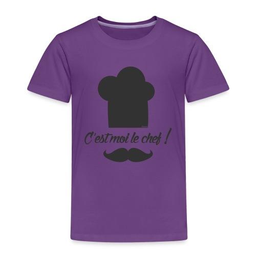 Moi le chef ! (H) - T-shirt Premium Enfant