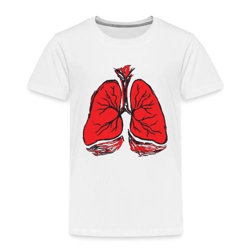 Pulmones - Camiseta premium niño