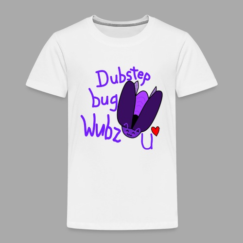 Dubstep bug shirt - Kids' Premium T-Shirt