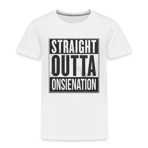StraightOutta OnsieNation official mug - Kids' Premium T-Shirt