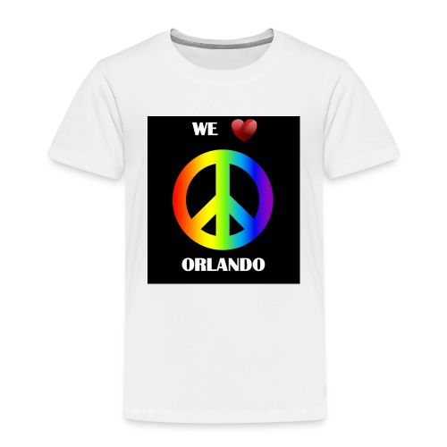 ORLANDO PEACE BLACK - Kids' Premium T-Shirt