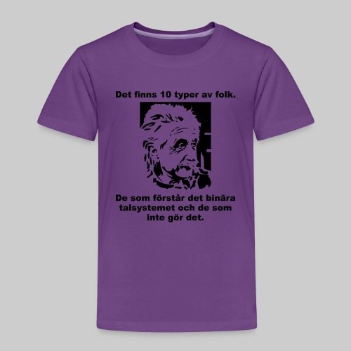 Det finns 10 Typer - Premium-T-shirt barn