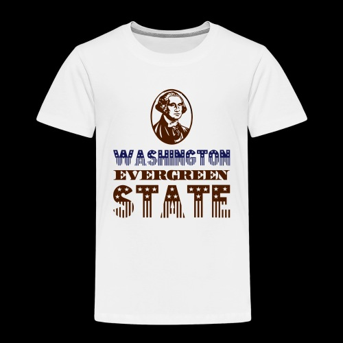 WASHINGTON EVERGREEN STATE - Kids' Premium T-Shirt