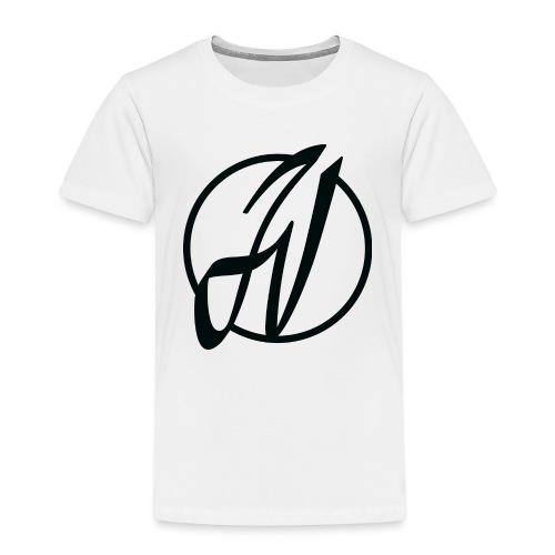 JV Guitars - logo noir - T-shirt Premium Enfant