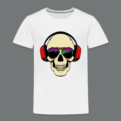 skull dj - Kids' Premium T-Shirt