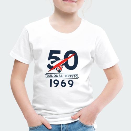 Concorde 50th Anniversary - Kids' Premium T-Shirt