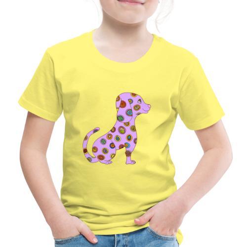 Le chien fleuri - T-shirt Premium Enfant