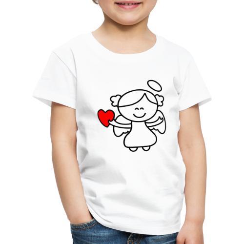 Lykkeengel - Premium T-skjorte for barn