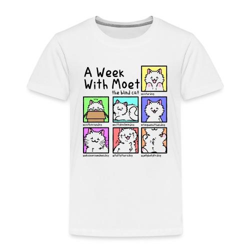 A week with Moet black - Kids' Premium T-Shirt