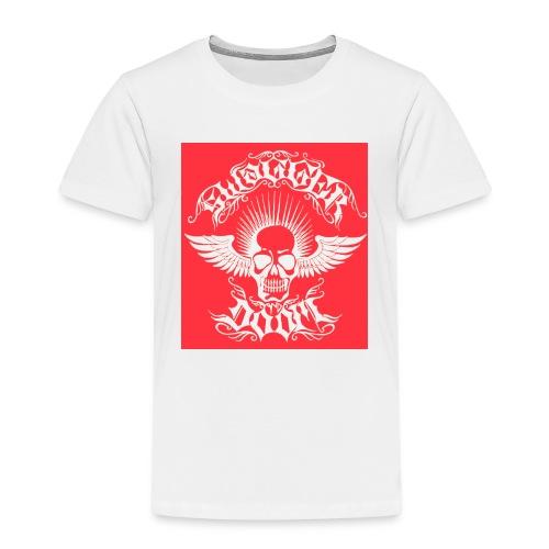 Swagger & Doom Red/ White 1.0 - Kids' Premium T-Shirt