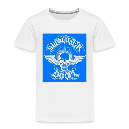 Swagger & Doom Blue/ White 1.0 - Kids' Premium T-Shirt