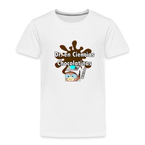 Doc. en Ciencias Chocolatinas - Camiseta premium niño