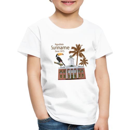 Gebouw Financiën - Kinderen Premium T-shirt