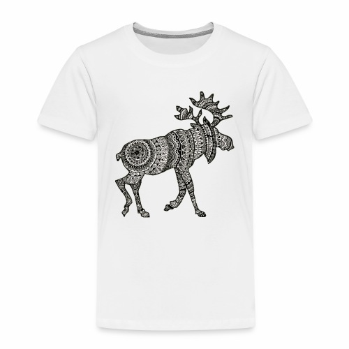 Ethno - Moose - Kinder Premium T-Shirt