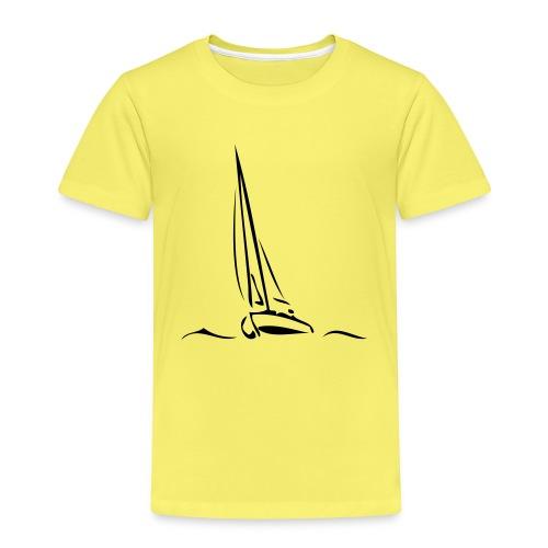 Segelboot - Kinder Premium T-Shirt