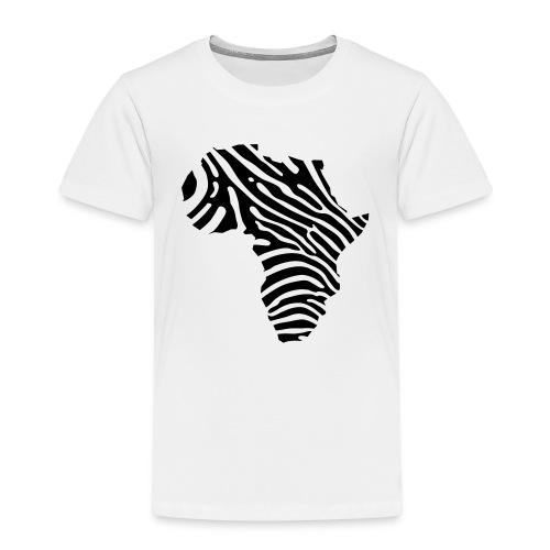Afryka zebra - Kids' Premium T-Shirt