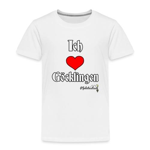 Ich herz Goecklingen - Kinder Premium T-Shirt