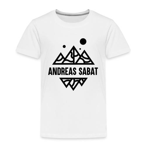 sabat logo black - Børne premium T-shirt