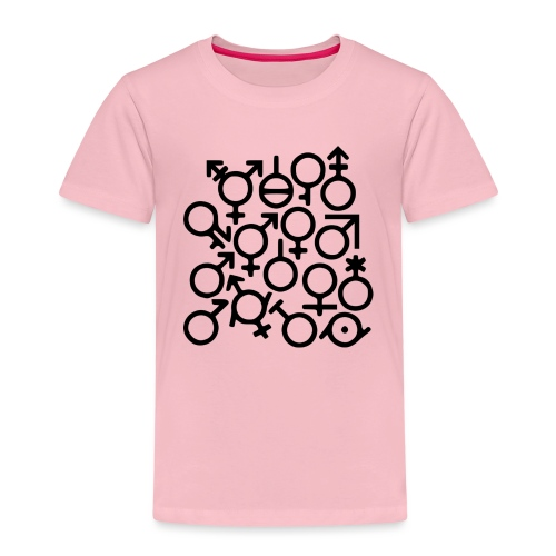 Multi Gender B/W - Kinderen Premium T-shirt