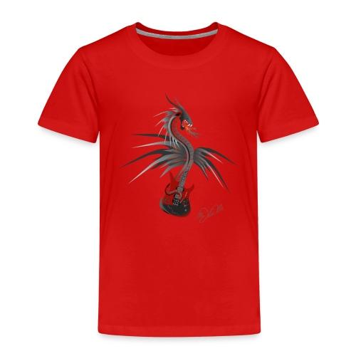 Guitardragon 4 - Kinder Premium T-Shirt