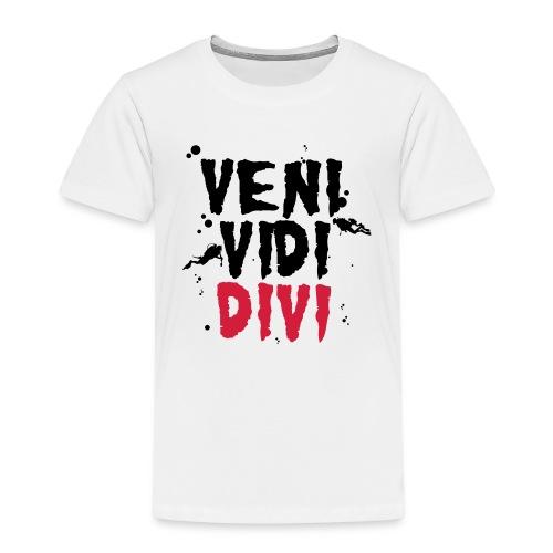 dive, nur, scuba, cool, - Koszulka dziecięca Premium