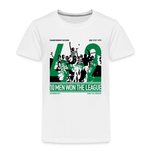 Ten Men Won The League - Kids' Premium T-Shirt