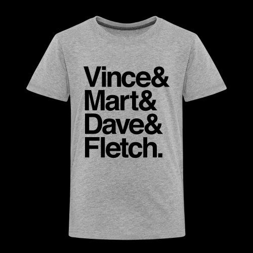 DM Depech Mode Original Lineup - Premium-T-shirt barn