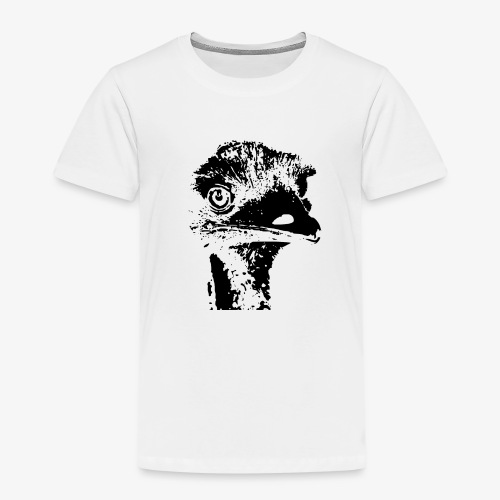 Emu Outline Black - Kids' Premium T-Shirt