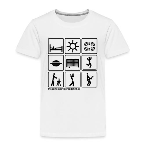 Fussball_stadion - Kinder Premium T-Shirt