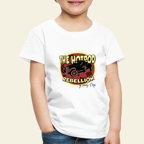hotrod rebellion - Børne premium T-shirt