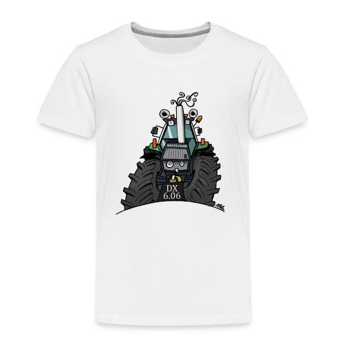 0367 Groene trekker DX606 - Kinderen Premium T-shirt